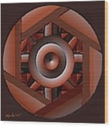 Symmetrica 217 Wood Print
