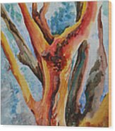 Symphony Of Branches Wood Print