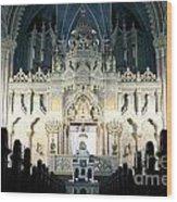 Synagogue Wood Print