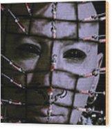 Syringe Head Wood Print