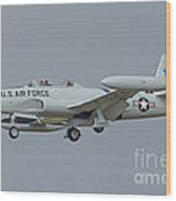 T-33 Fighter Wood Print
