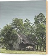 T Barn 1 Wood Print