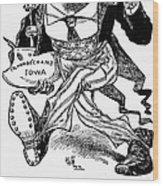T. Roosevelt Cartoon, 1903 Wood Print