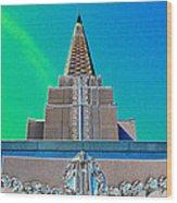 Tabernacle Dream 1 Wood Print