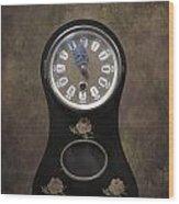Table Clock Wood Print