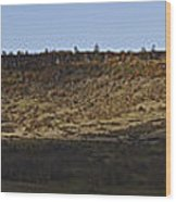 Table Rock Panorama Wood Print