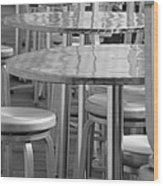 Tables And Stools Wood Print