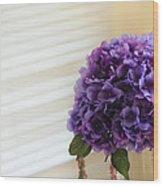 Tabletop Bloom Wood Print