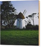 Tacumshane Windmill, Co Wexford, Ireland Wood Print