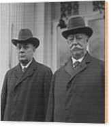 Taft & Butler, 1922 Wood Print