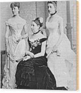 Taft Family, 1884 Wood Print