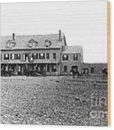 Taft's Hotel 1830 Wood Print by Extrospection Art