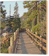 Tahoe Bridge Wood Print by Silvie Kendall