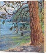 Tahoe Light Sugar Pine Point State Park Wood Print