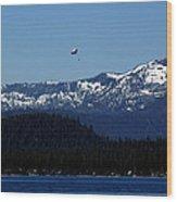 Tahoe Parasailing Wood Print