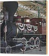 Tahoe Steam Locomotive Wood Print