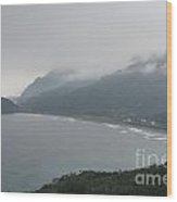 Taiwan Inlet With Clouds Wood Print
