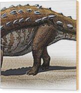 Talarurus Plicatospineus, A Prehistoric Wood Print