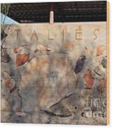 Taliesin Entry - Arizona Wood Print
