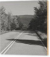 Talimena Roads I Wood Print