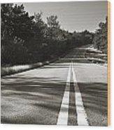 Talimena Roads II Wood Print
