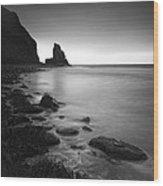 Talisker Rock Wood Print