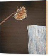 Talk To Me Wood Print