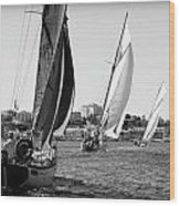 Tall Ship Races 2 Wood Print