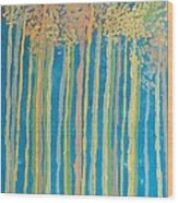 Tall Trees Wood Print by Helene Henderson