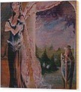 Tamlin Wood Print by Jackie Rock