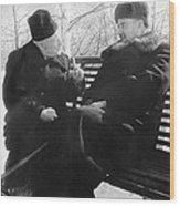 Tamm And Kurchatov, Soviet Physicists Wood Print