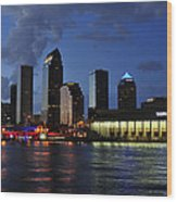 Tampa Convention Center Wood Print
