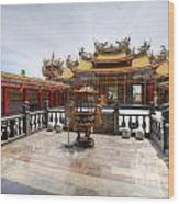 Taoist Temple 2 Wood Print