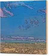 Taos Abstract Wood Print