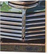 Taos Truck 1 Wood Print