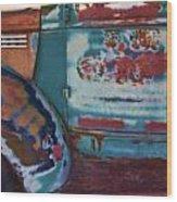 Taos  Truck 2 Wood Print