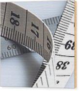 Tape Measure Wood Print