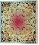 Tapestry Mandelbrot Wood Print