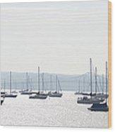 Tappan Zee Bridge - Nyack New York Wood Print