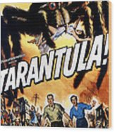 Tarantula, John Agar, Mara Corday, 1955 Wood Print by Everett