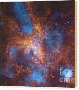 Tarantula Nebula 30 Doradus Wood Print