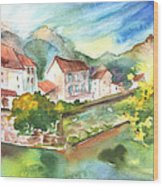 Tarascon Sur Ariege 01 Wood Print