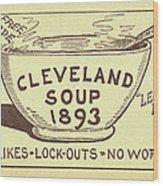 Tariff League Postcard, 1906 Wood Print