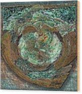 Tarnish And Brass Wood Print