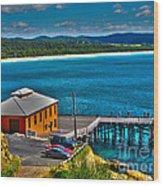 Tathra Wharf Wood Print