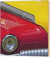Taxi De Soto Wood Print