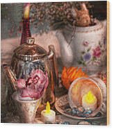 Tea Party - I Would Love To Have Some Tea  Wood Print