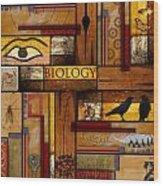 Teacher - Biology Wood Print