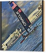 Team Oracle On The Bay Wood Print