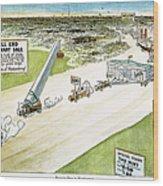 Teapot Dome Scandal, 1924 Wood Print